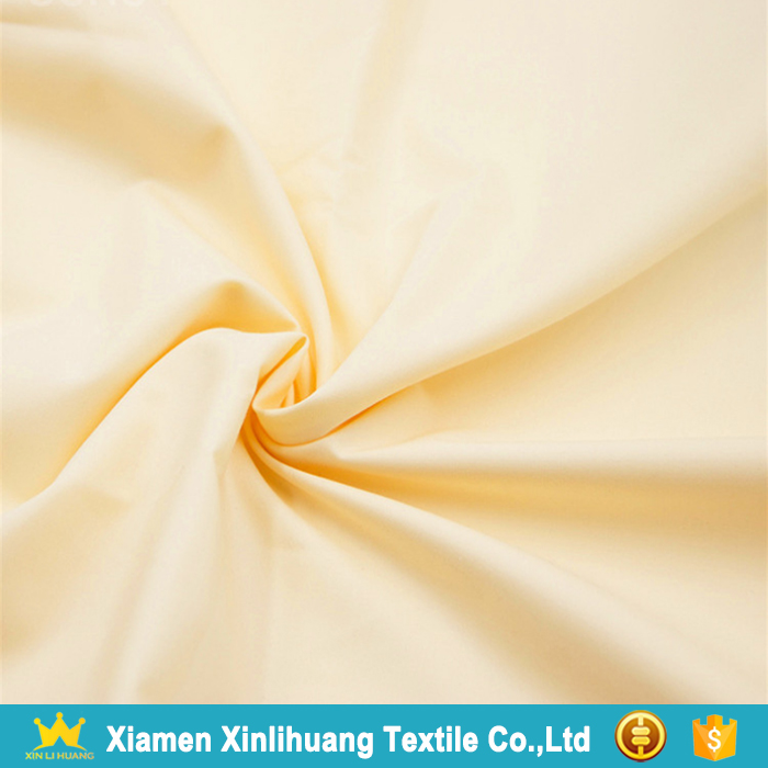 Hot Sale Soft Hand Feeling Woven Plain 100 Cotton Shirting Fabric