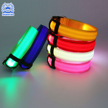 Pet Accessories Rechargeable Custom Cat Pet LED Collar