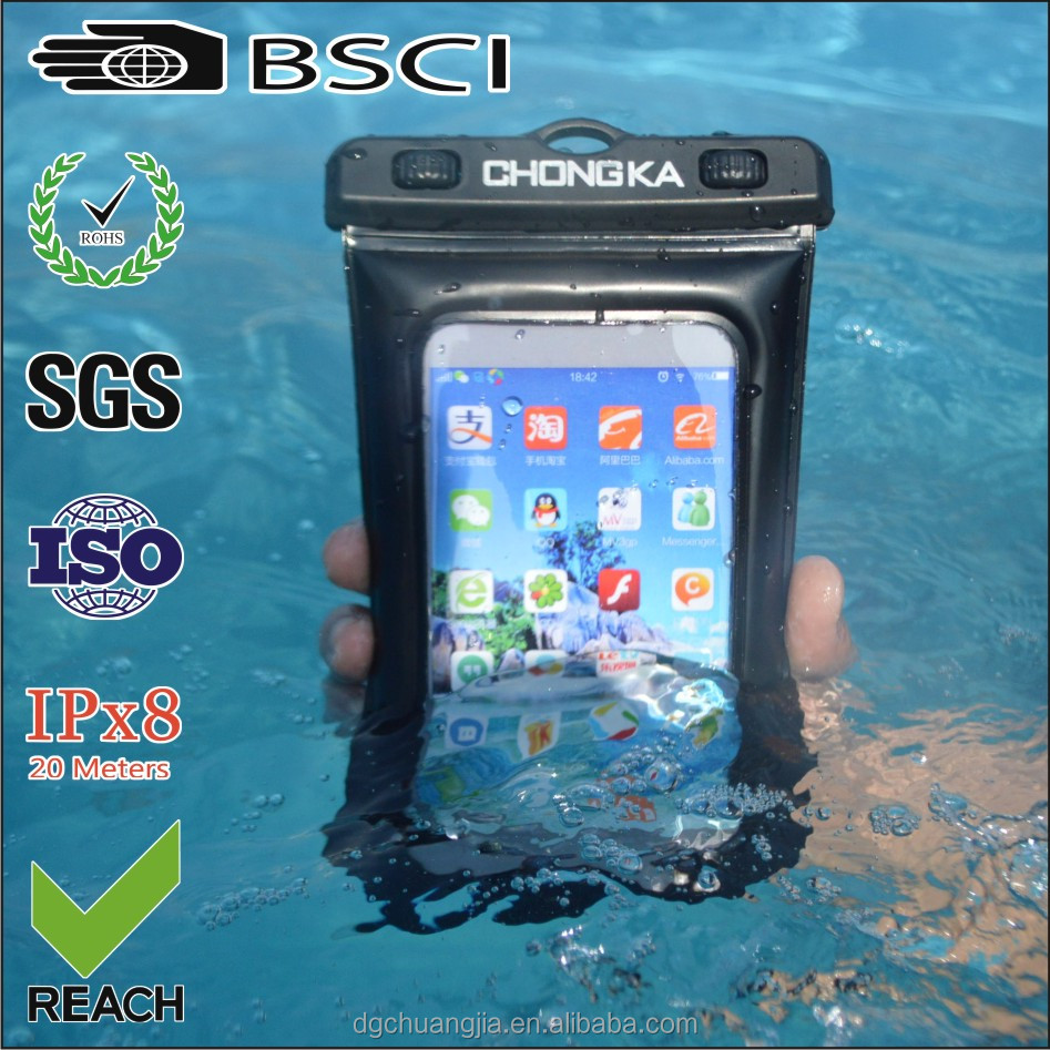 Top quality phone waterproof case for samsung galaxy s4 mini i9190