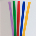 "5/32"" PE plastic twist ties/bag closure for food packaging or garbage bag"