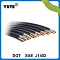 YUTE DOT approved ameca 1/2 inch 12.7mm air brake hose with SAE J1402