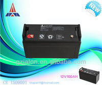 high quality gel batteries 12v 100ah china solar cells