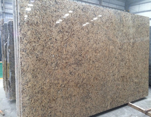 Polished Gangsaw Granite Slab for Kichen Countertop