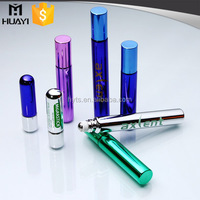 3ml/4ml/5ml/8ml/10ml glass roll on bottle with stainless steel roller ball