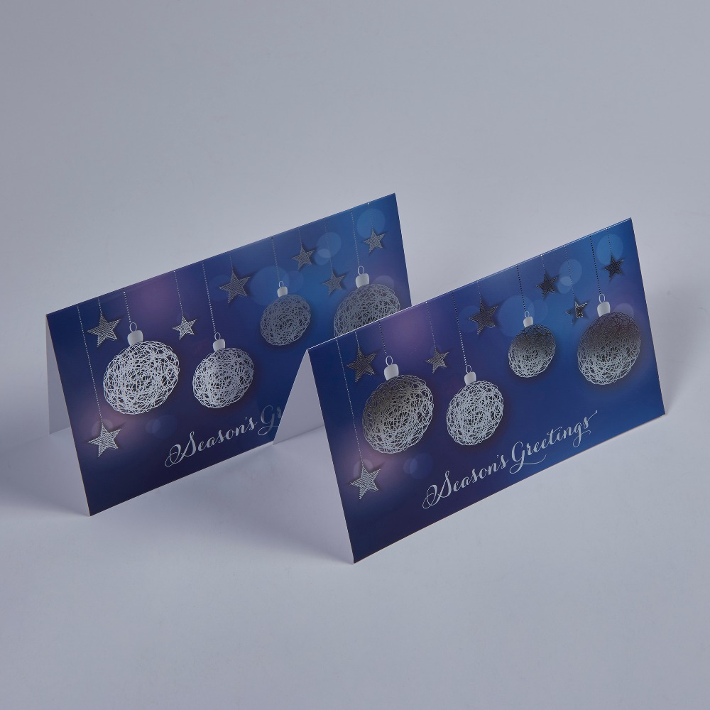 Christmas paper cards printing