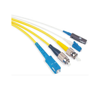 Gigabit Ethernet cheap optic fiber patch cable for Video multimedia