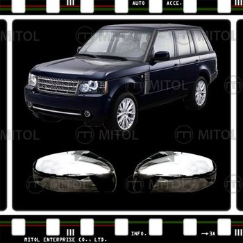For LAND ROVER RANGE ROVER 10- Chrome Door Mirror Cover Rim Frame