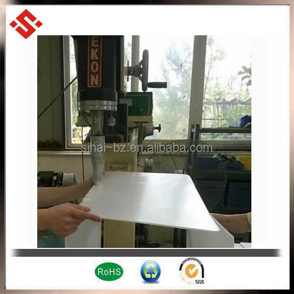 2017 High quality 12mm thickness plastic Coroplast ,Hollow ,Corrugated PP Sheet
