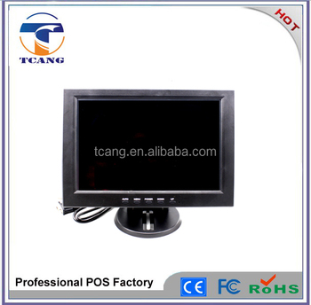 2016 alibaba recommended 12 inch 4 wires resistive POS touch screen monitor
