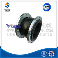 neoprene/epdm single sphere rubber bellows expansion joint