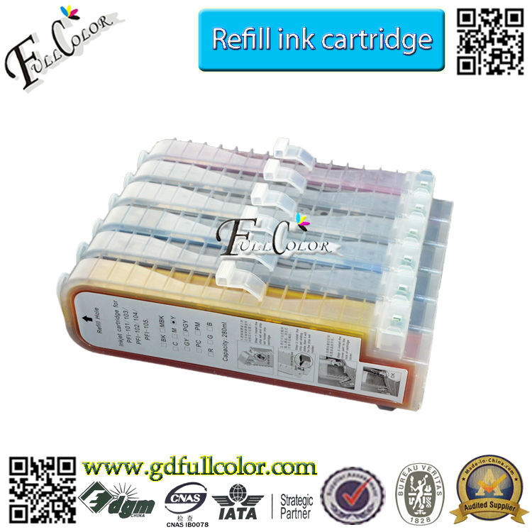 Made In China Alibaba Ink Cartridge For IPF650 / IPF665 / IPF750 / IPF755 Printers