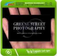 PVC Business Cards CR80 30mil in Stock with Free Sample and Customized Logo