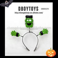 Fashion accessories Halloween party hair ornament with ghost head