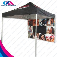 custom design exhibition stand aluminum fold tent 3x6