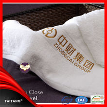 2017 high quality customized high thread count egyptian cotton towels