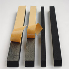 Foam Manufacturer CR Neoprene Foam Strip with One-Side Adhesive Tape