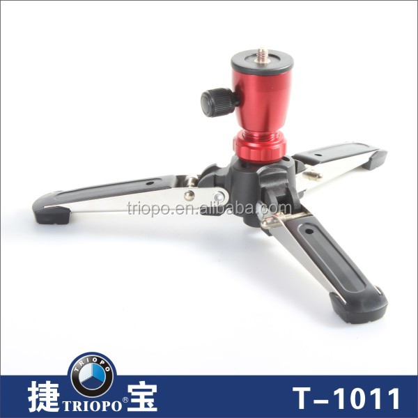 Triopo Aluminum Material and Mini Tripod / Lightweight Type table top tripod for photo