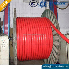 Copper Aluminium conductor PVC Insulated Armoured Cable 4Core 35mm Sq power cable