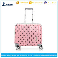 wholesale new products aluminum frame ABS+PC trolley luggage