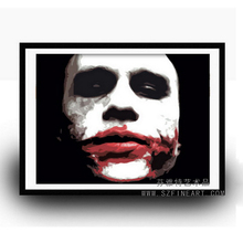 Famous Good Priced Handpainted POP Art Joker Oil Painting