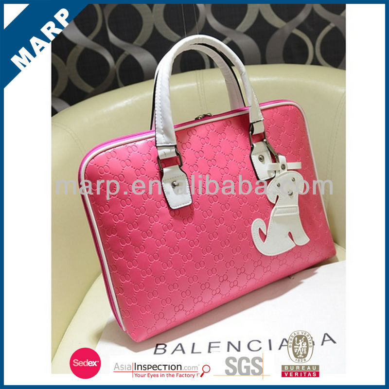 hottest selling fashionable pu leather kids briefcases
