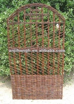 2012 Eco-friendly New Style Trellis Willow Fencing Fence Screen