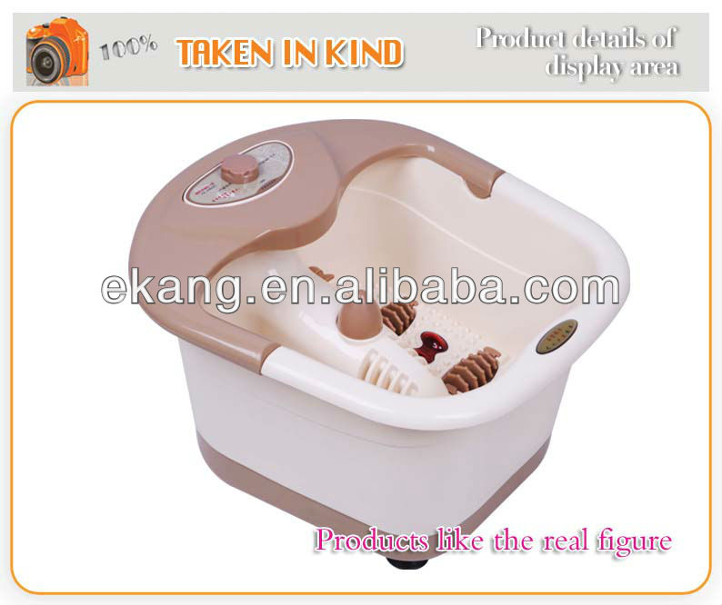Hot Tube Massage for Foot