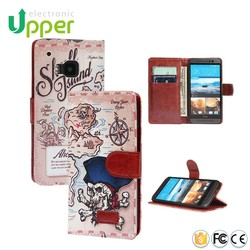 Mobile Phone Accessories Leather fancy mobile phone case cover for htc desire 510