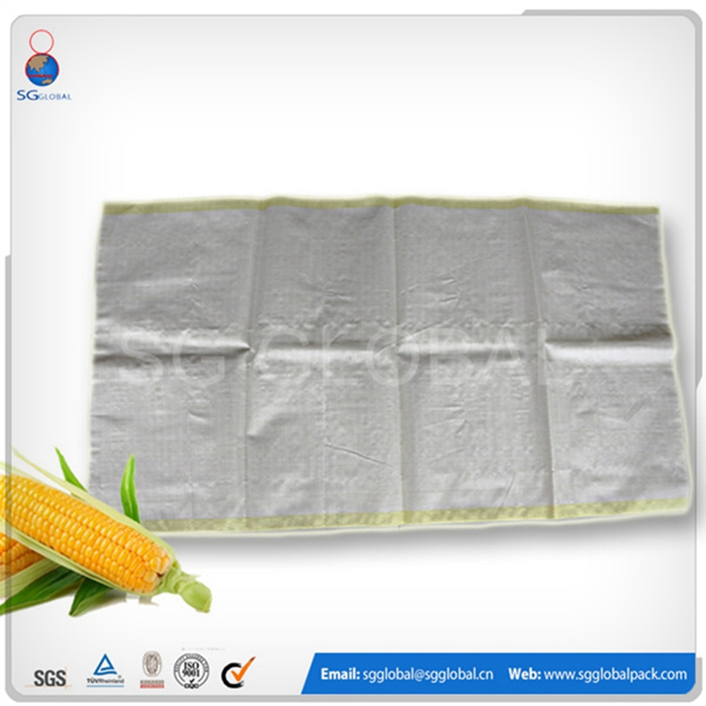 Packaging 50kg wheat flour rice pp woven laminated bag for sale