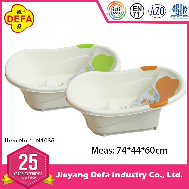 defa ergonomics design n1035 baby bath tub with en71 certification buy baby bath tub kids bath. Black Bedroom Furniture Sets. Home Design Ideas