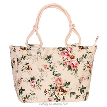 Manufacturers direct sales of new printed large canvas bags,pictures tote bag women canvas handbag