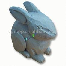 Wooden Carved Rabbit