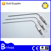 Medical ENT equipment ear suction tube