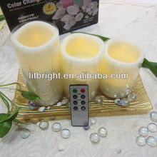 Flameless led wax Candle