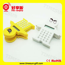 Hot selling portable smart cartoon calculator and texas financial calculator