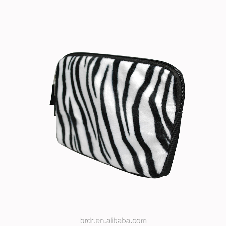 2015 New Model Zebra Fluff Surface Neoprene College Tablet Cover