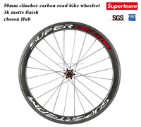 F*20h/R*24h Spoke Hole and 700c*50mm Size Carbon fiber bicycle wheel /carbon bike wheels with Chosen Hub