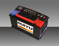 12V 100AH (DIN) sell best price high quality lead acid smf auto battery