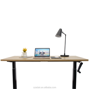 Ergonomic Manual Height Adjustable Desk Frame Manager Desk Home Furniture
