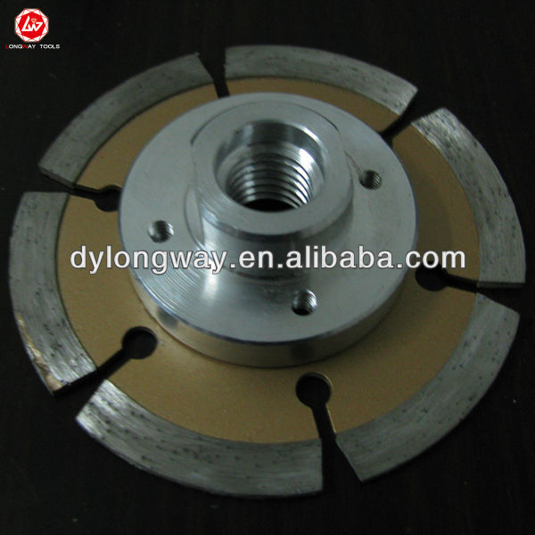 "80X7XM14 3""segment diamond saw blade with flange for granite,marble,bricks, concrete.tools,granite blade,accessories"