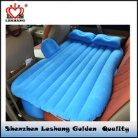 inflatable flocked travel car air mattress bed car bed ,inflatable car bed,children car bed