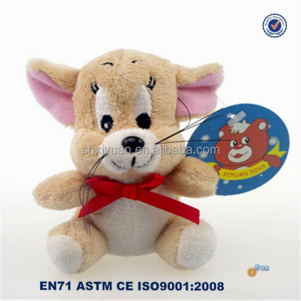 Wholesale keychain plush toy cute mini mouse