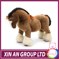 EN71 Cute mascot stuffed horse plush horse