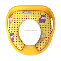 newest model Children/baby/kids comfortable WC potty seat with handle