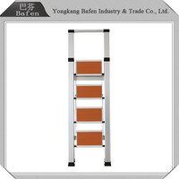 Gold supplier China folding extendable step ladder
