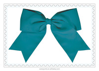 2017 New chevron ribbon cheer bow handmade chevron printed ribbon cheer bow fashion kids mixed color cheer bow
