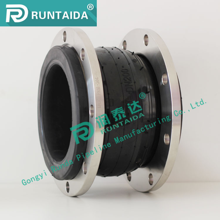 Wholesale single sphere EPDM flexible rubber expansion joints