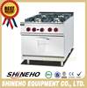 W002 Used Gas Italian Cooking Range Cooker In India