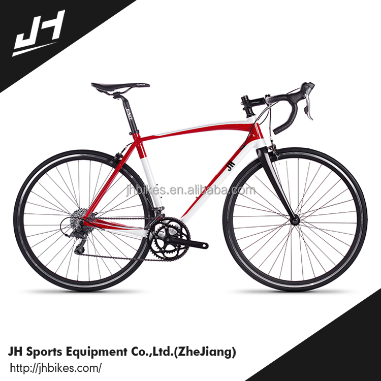 CE Approved 2016 NEW 16 Speed Road Bike Carbon Fork Racing Bike