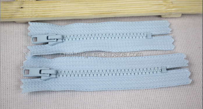 3# plastic/plastico zipper/cierre, close end, auto lock ,derlin plastic